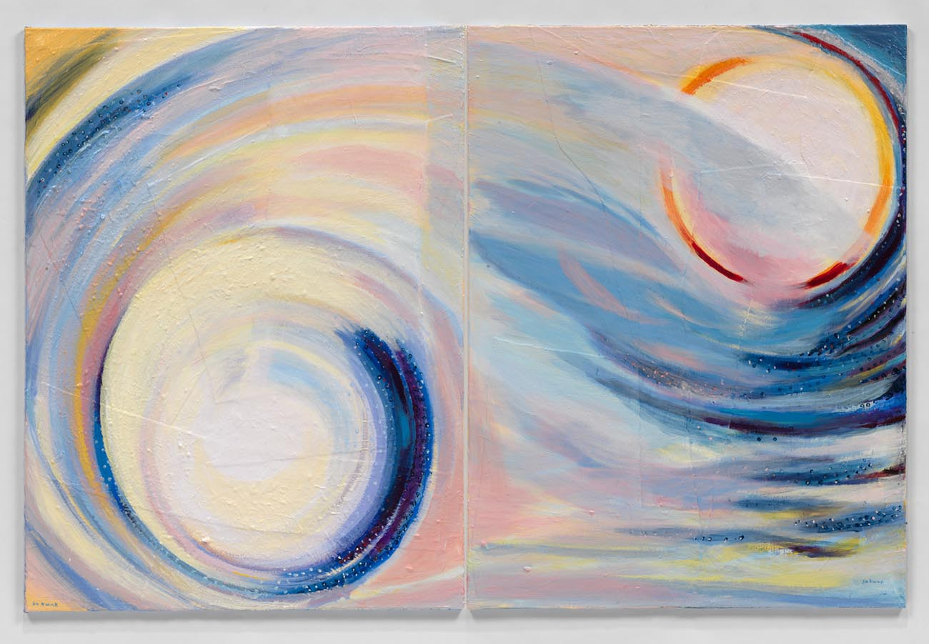 Cosmic Light #34 (2015) Acrylic on Canvas 48 x 72 in