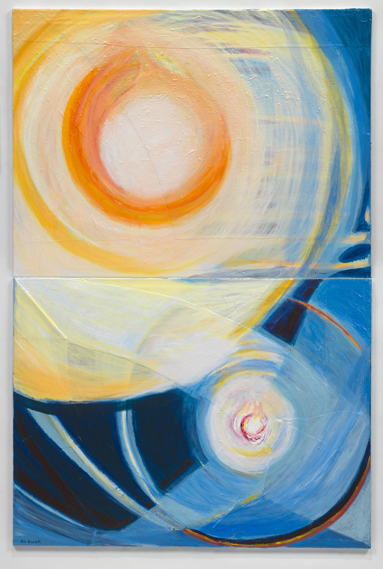 Cosmic Light #33 (2015) Acrylic on Canvas 72 x 48 in