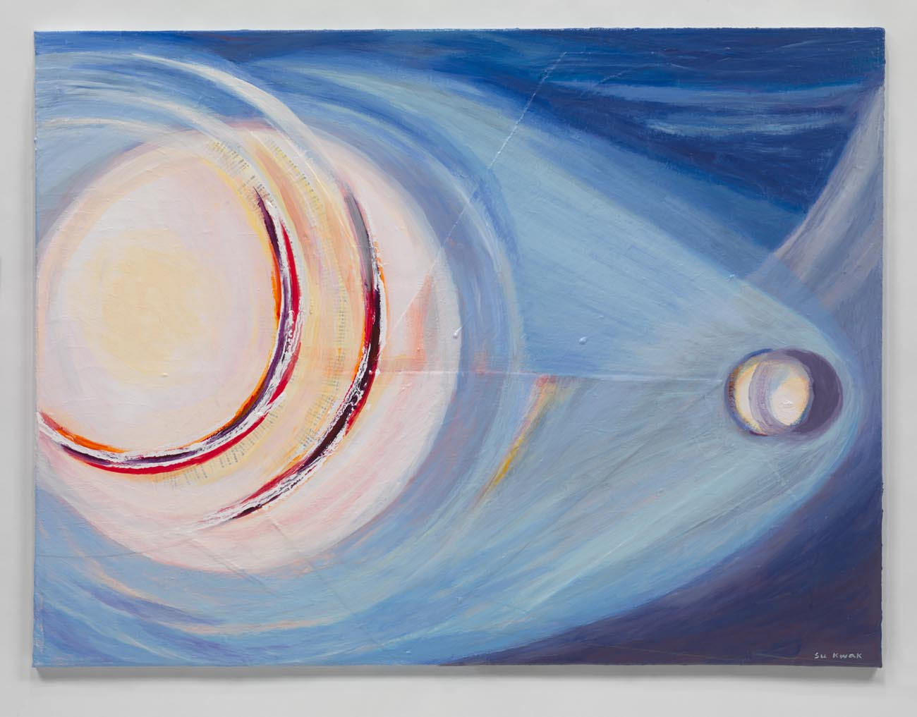 Cosmic Light #31 (2015) Acrylic on Canvas 36 x 48 in