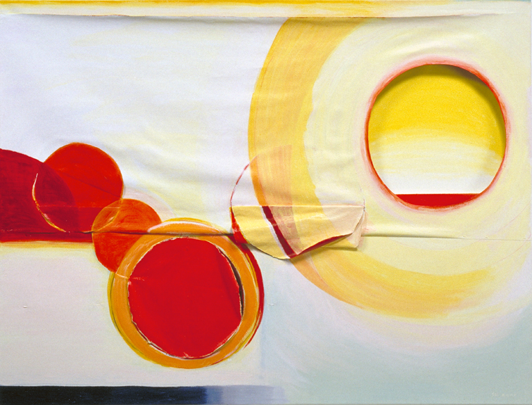 Healing Light #9 2004 Acrylic on Canvas 54x72x4 inches