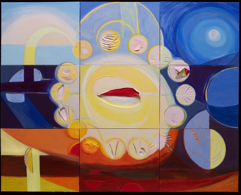 Healing Light #22 2006 Acrylic on Canvas 72x90x2 inches (183x229x5cm)