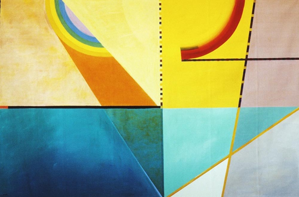 Inner Vision #18 (1987), Acrylic on Canvas 66x102 in (168x259 cm)